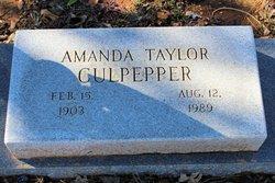 Amanda <I>Taylor</I> Culpepper
