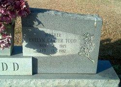 Evelyn Jane <I>Carter</I> Todd