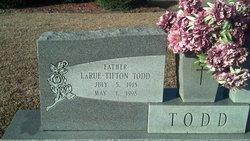 LaRue Tifton Todd