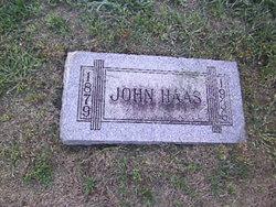 John Haas Sr.