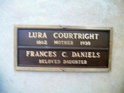 Frances C <I>Courtright</I> Daniels