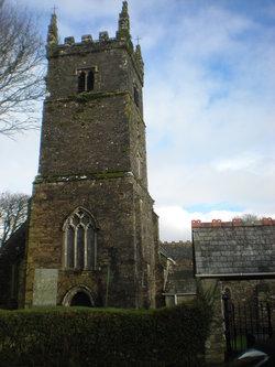 St Pinnock Churchyard