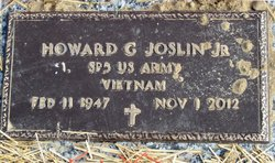 "Howard G ""Jerry"" Joslin, Jr"
