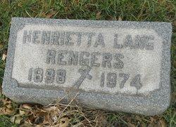 Henrietta <I>Lang</I> Rengers