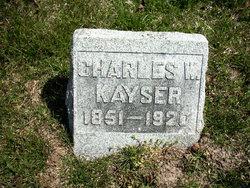 Charles W Kayser