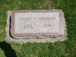 Ernest Theodore Sproston