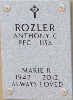 Marie R Rozler
