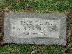 Jessie Clementine <I>Thompson</I> Lewis