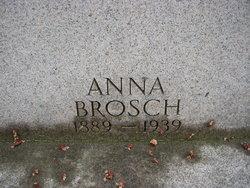 Anna <I>Zindel</I> Brosch