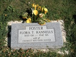 "Florence Tezzelle ""Flora"" <I>Rannells</I> Foster"