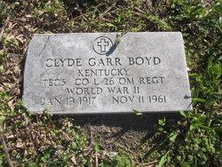 Clyde Garr Boyd