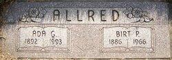 Ada Eliza <I>Garner</I> Allred