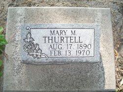 Mary Mae <I>Jensen Smith</I> Thurtell