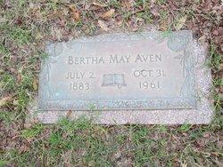 Bertha Mae Rillie <I>Phillips</I> Aven