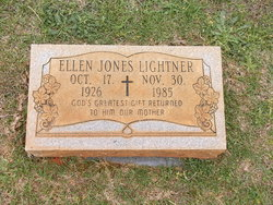 Ellen <I>Jones</I> Lightner