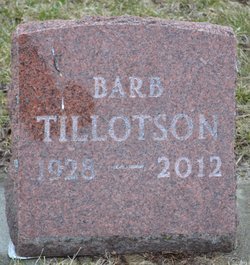 Barbara <I>Huff</I> Tillotson