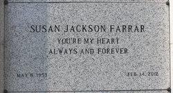 Susan <I>Jackson</I> Farrar
