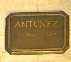 Hazel Irene <I>Sterner</I> Antunez