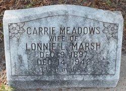 Carrie <I>Meadows</I> Marsh