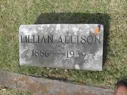 Lillian Virginia <I>Callahan</I> Allison