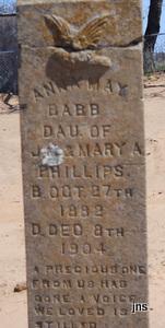 "Anna May ""Babb"" Phillips"