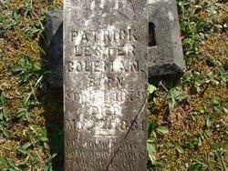 Patrick Lester Coleman