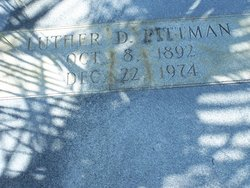 Luther D Pittman