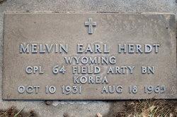 Melvin Earl Herdt