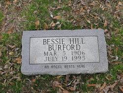 Bessie <I>Hill</I> Burford