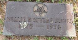 Nellie <I>Broyles</I> Jones