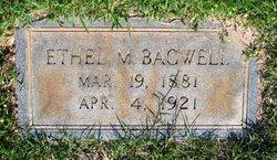 Ethel J. <I>Morgan</I> Bagwell