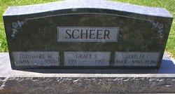 Grace S <I>Kettler</I> Scheer