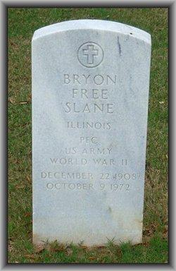 """Byron Free """"Ben"""" Slane"""
