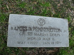 "Banks Banor ""BB"" Pennington Jr."