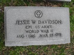 Jessie W Davidson