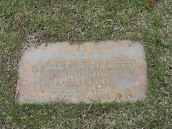 George R Pickett