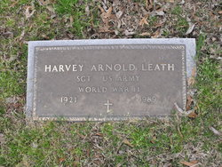 Harvey Arnold Leath