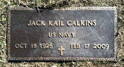 Jack K Calkins