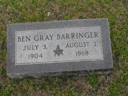 Ben Gray Barringer