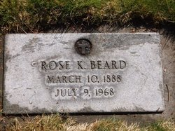 Rose Katherine <I>Goerling</I> Beard