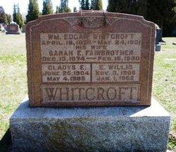 """William Edgar """"Ed"""" Whitcroft"""