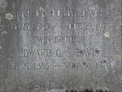 Edward G. S. Davis