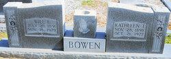 Nancy Kathleen <I>Tuggle</I> Bowen