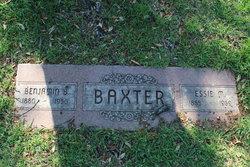 Benjamin Burleson Baxter