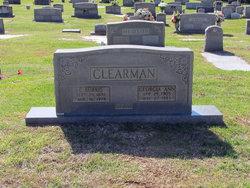 Georgia Ann <I>Pennington</I> Clearman