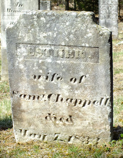 Esther <I>Rogers</I> Chappell