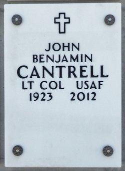 LTC John Benjamin Cantrell