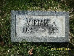Miriam A Cathcart