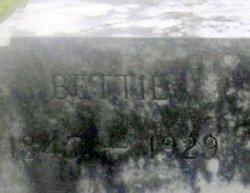 """Elizabeth """"Bettie"""" <I>Harvey</I> Gray"""