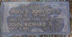John Richard Johnson, Sr